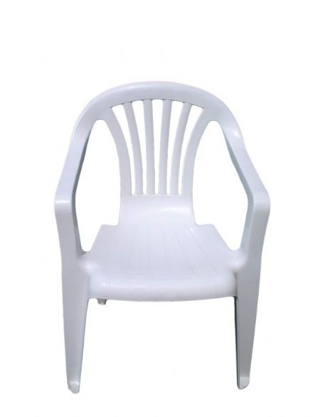 SupaGarden Plastic Childs Chair - White